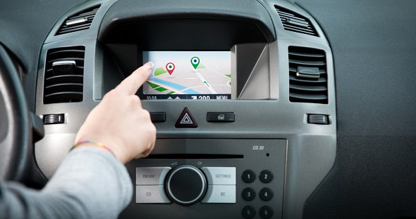 Car gadgets - touch screen display