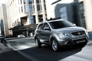 SsangYong Backs New Korando with Five Year Warranty Image