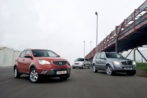 Hares Gets SsangYong Franchise Image