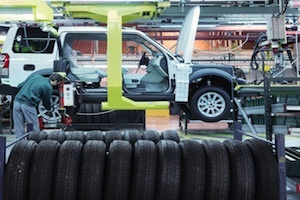 Steady gains in automobile production Image