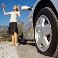 Drivers not prepared for punctures Image