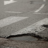 Potholed roads reaching crisis point' Image