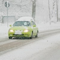 Six million leave snow on vehicle Image