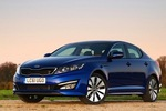 Kia Optima offers good looks and solid warranty Image