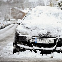 Driving advice as snow hits Image